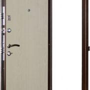 Дверь Гранит М1 Беленый дуб