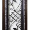 Гранит Коттедж стеклопакет с решеткой