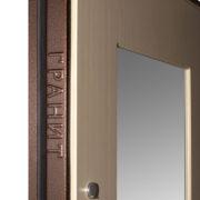 Дверь Гранит М3 фирменный логотип